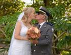 Capitão se casa aos 87 anos com noiva de 56 em Colatina