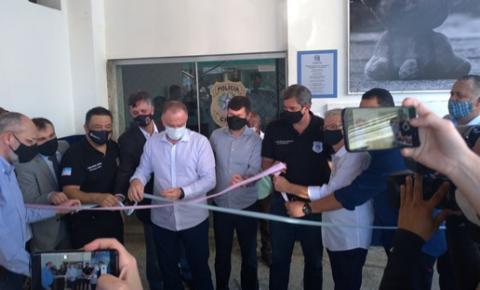 15 ª Delegacia de Colatina é inaugurada e governo anuncia conclusão da ES-446