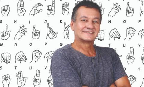 Sílvio Moulin, um dos pioneiros nas lutas pelos surdos no ES é candidato a vereador na Serra