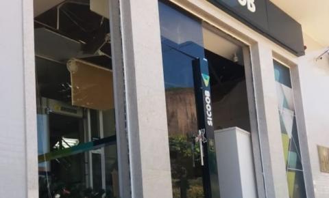 Quadrilha explode agência bancária em Pancas