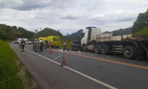 Acidente deixa 3 mortos na BR-101 em João Neiva