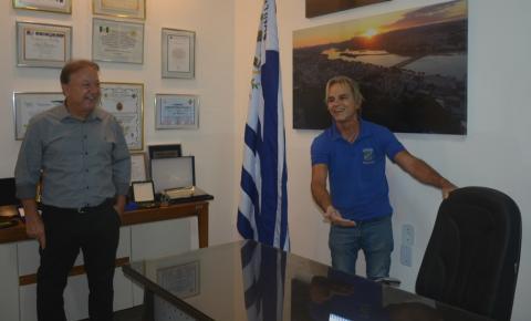 Balestrassi convida prefeito a ficar na sua equipe de governo