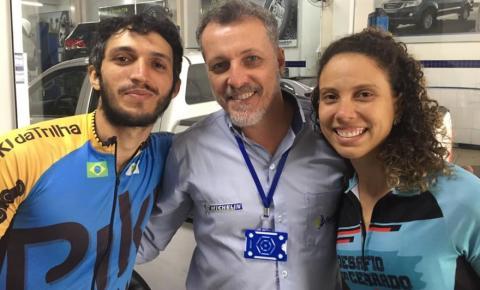 Casal percorre o Brasil de bicicleta e escala montanhas