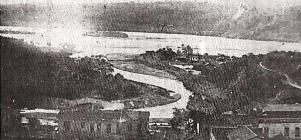A 2ª Guerra influenciou na mudança do curso do rio Santa Maria e na urbanização do centro de Colatina