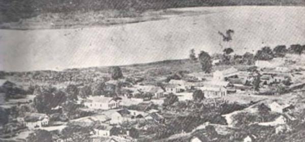 A primeira estação de Colatina