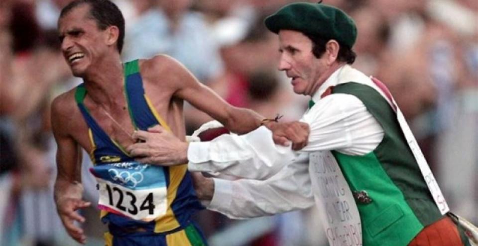 Vivi final de semana iluminado com um dos maiores heróis olímpicos